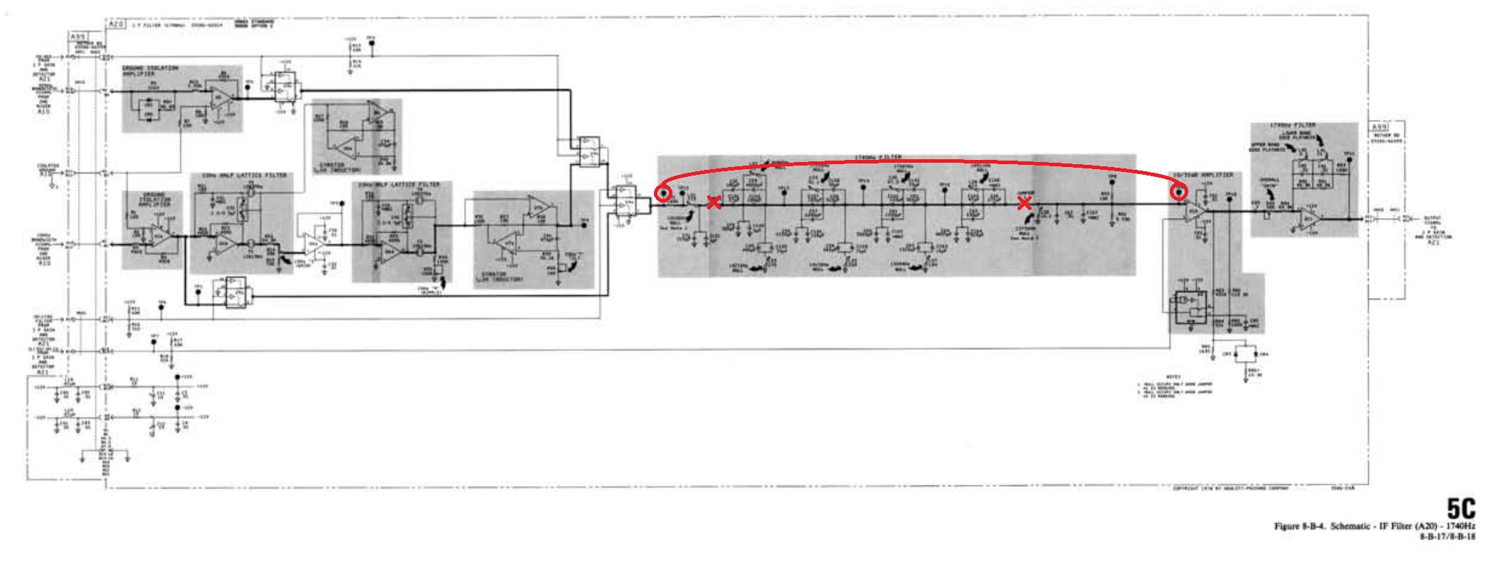 选频滤波器电路